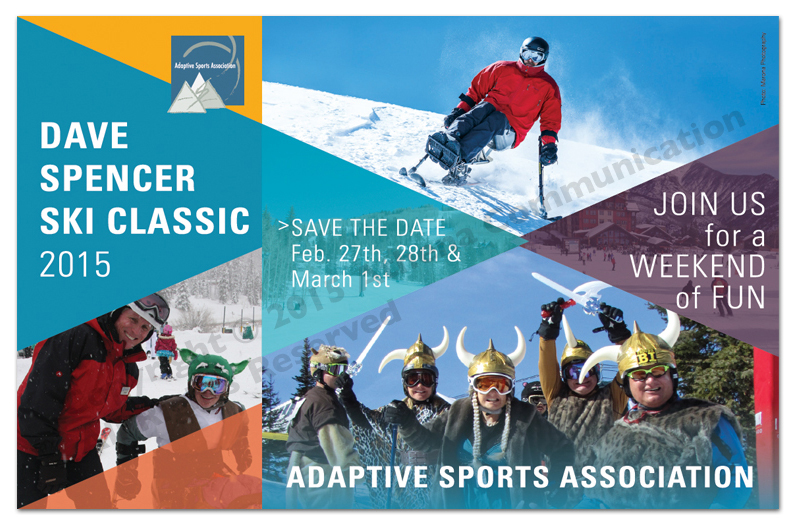 Adaptive Sports Association DSC Postcard