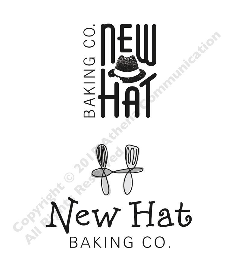 New Hat Baking Logo Comps