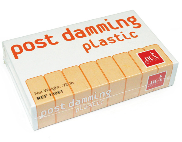 Post Damming Plastic Package