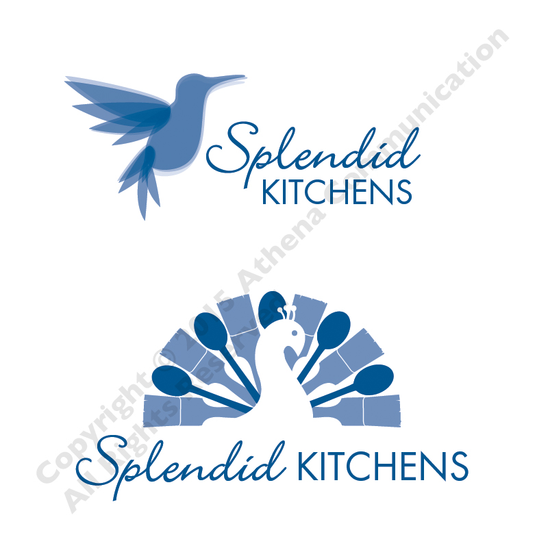 Splendid Kitchens Logo Comps