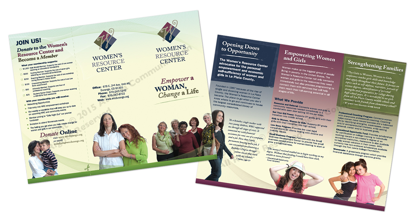 Women's Resource Center Brochure