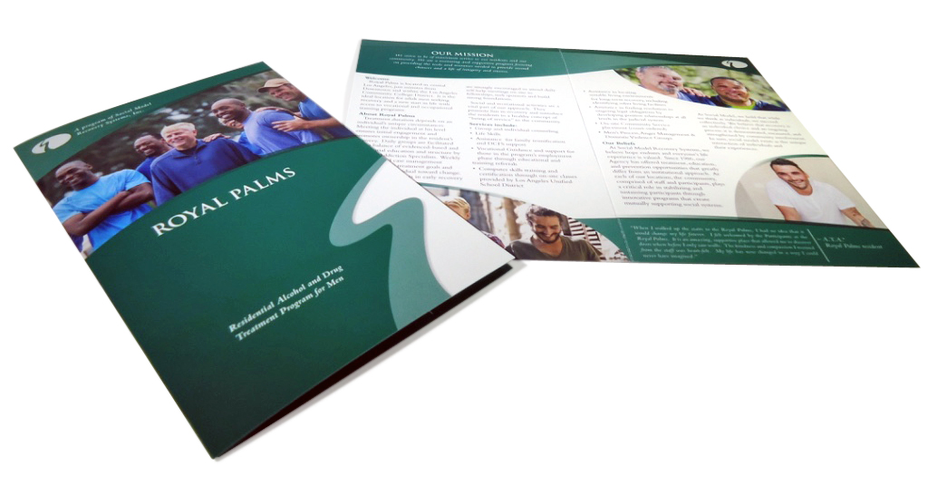 Social Medal Recovery Royal Palms Brochure