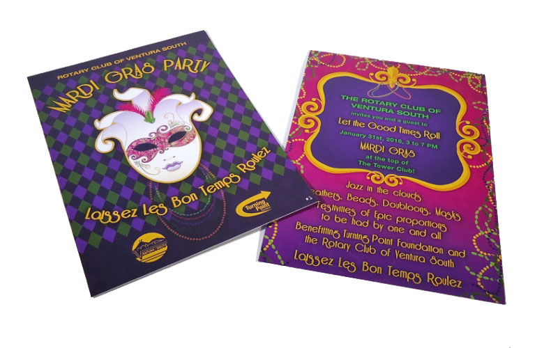 TPF Mardi Gras Auction Invite